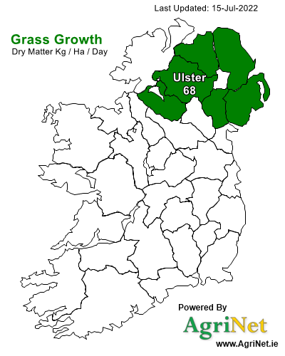 Grass Growth Map